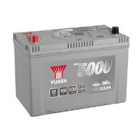 Autobaterie Yuasa Silver High Performance 100Ah, 12V, 830A (YBX5334) - Japan Levá