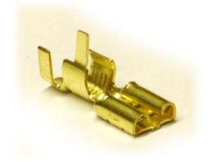 Konektor Faston 6,3 mm, 4-6mm dutinka