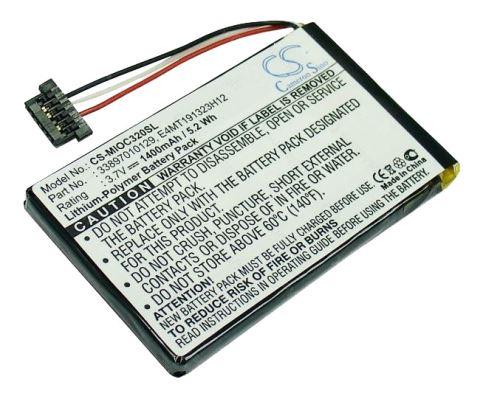 Baterie CS-MIOC320SL náhradní pro navigace Mio C320, 1150mAh, Li-Pol, (Blistr 1ks)