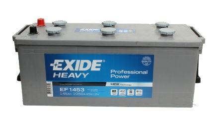 Autobaterie EXIDE PowerPRO, 12V, 145Ah, 900A, EF1453