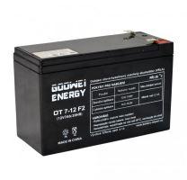Staniční (záložní) baterie YUCELL OT7-12, 7,2Ah, 12V, F2 ( VRLA )