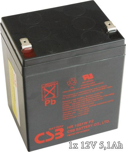 APC RBC29 - náhradní baterie ( 1 x CSB HR1221WF2 )