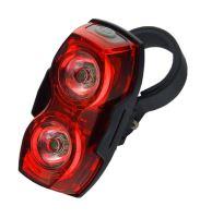 EverActive TL-X2 zadní světlo na kolo 1 LED, 2 LED, blikající, vodotěsné, 2x AAA