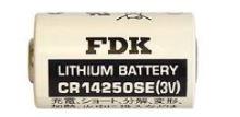 Baterie FDK CR-14250SE, 3V, 850mAh, 1/2AA, Lithium, 1ks