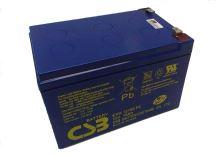 Akumulátor (baterie) CSB EVH12150 F2, 12V, 15Ah, Faston 250, široký