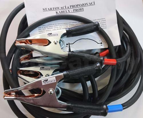 Startovací kabely 1-4-25 délka 4m vodič 25mm2 (profi)