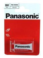 Baterie Panasonic zinco-carbon, 6F22RZ, 9V, (Blistr 1ks)