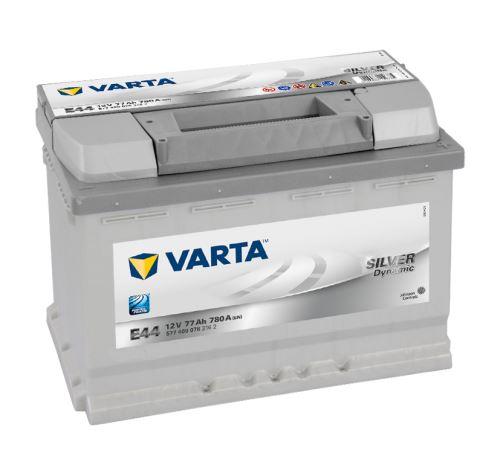 Autobaterie VARTA Silver Dynamic 77Ah, 12V, 780A, (E44)