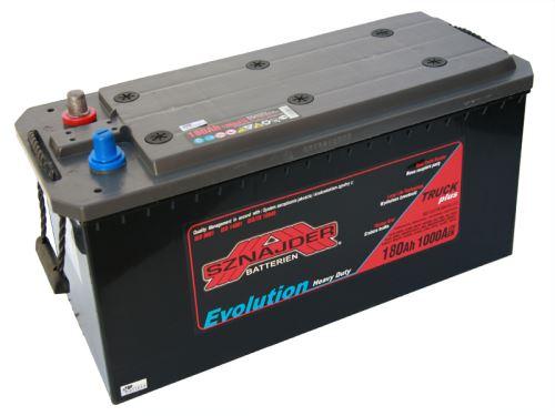 Autobaterie Sznajder HD 180Ah, 12V, startovací proud 1000A, 68013