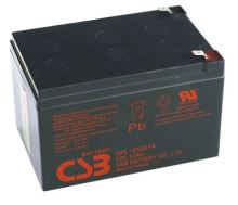 Akumulátor (baterie) CSB GPL12120F2, 12V, 12Ah, Faston 250, široký