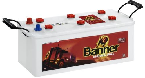 Autobaterie Banner Buffalo Bull 680 32, 180Ah, 12V, 950A ( 68032 )