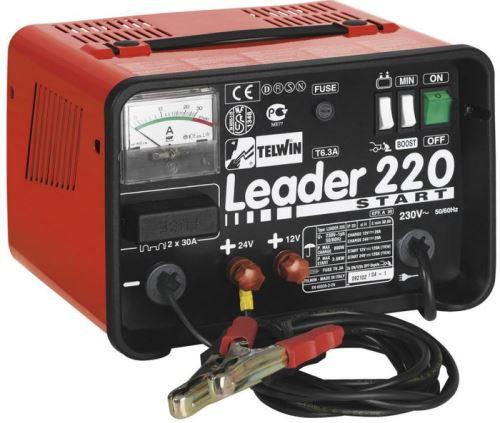 Nabíječka autobaterií Telwin Leader 220 Start, 12V/24V