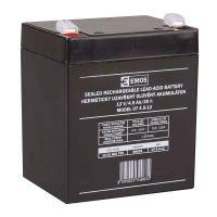Olověný bezúdržbový akumulátor SLA Emos B9653 12V / 4,5Ah, F1, úzký, 1201000700