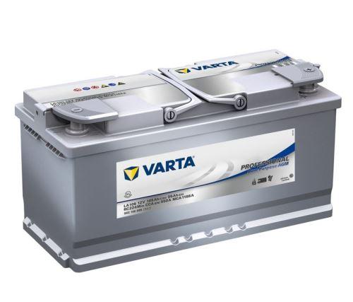 Trakční baterie VARTA Professional Dual Purpose AGM 105Ah, 12V, LA105