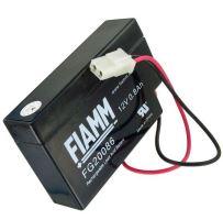 Olověný akumulátor Fiamm FG20086, 0,8Ah, 12V, (konektor)