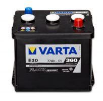 Autobaterie VARTA BLACK Dynamic 77Ah, 6V (E30)