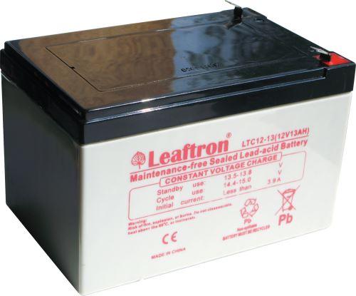 Akumulátor (baterie) Leaftron LTC12-13, 12V - 13Ah, cyklická
