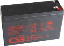 Akumulátor (baterie) CSB HR1224W F2, 12V 6,4Ah