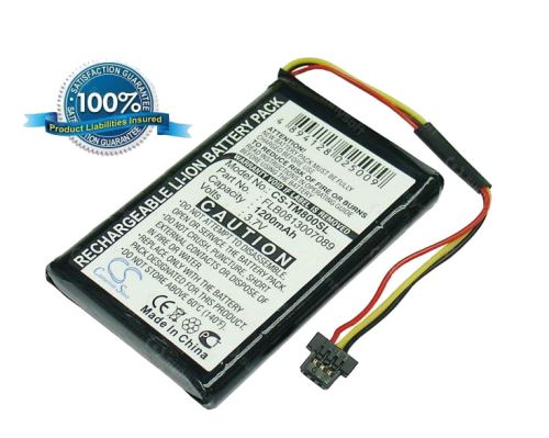 Baterie náhradní pro navigace TomTom One XL Traffic, TM800SL 1200mAh, Li-ion, (Blistr 1ks)