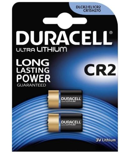 Baterie Duracell Ultra CR2, 3V, Lithium (Blistr 2ks)