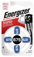 Baterie do naslouchadel Energizer 675 SP-4 4ks EN-634925, (Blistr 4ks)