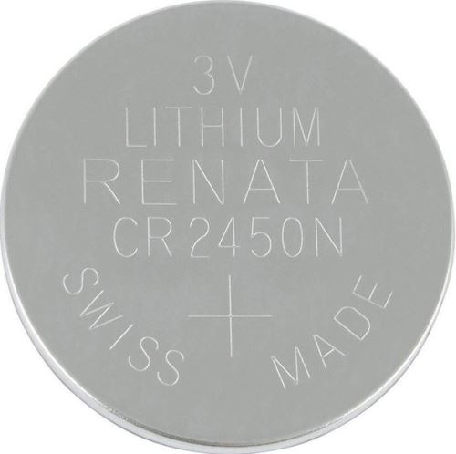 Baterie Renata CR2450N, Lithium, 3V, 1ks