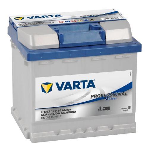 VARTA Professional Starter 52Ah, 12V, LFS52