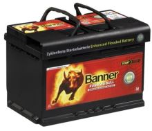 Autobaterie Banner Running Bull AGM 570 01, 70Ah, 12V, 760A (57001)