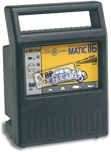 Nabíječka Deca MATIC 116, 12V, 4A