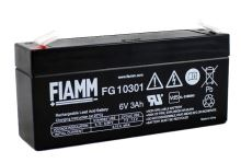 Olověný akumulátor Fiamm FG10301, 3Ah, 6V, (faston 187)