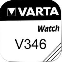 Baterie Varta Watch V 346, SR712SW, hodinková, (Blistr 1ks)