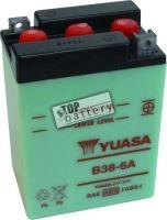Motobaterie YUASA B38-6A, 6V, 13Ah