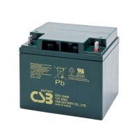 Akumulátor (baterie) CSB EVX12400, 12V, 40Ah, šroubová spojka M5/M6