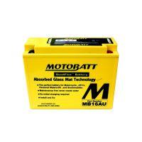 Motobaterie Motobatt MB16AU, 12V, 20,5Ah, 230A (YB16AL-A2)
