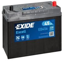 Autobaterie EXIDE Excell 12V, 45Ah, 300A, EB456
