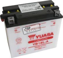 Motobaterie Yuasa YB18L-A, 12V, 18Ah