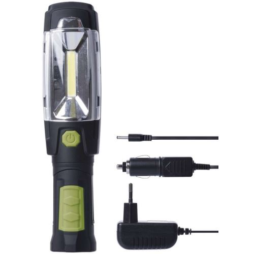 Nabíjecí svítilna Emos P4518, 3W COB + 6x LED