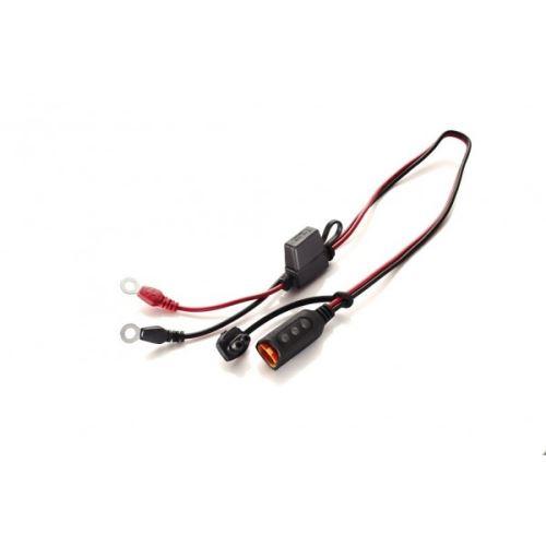 Konektor CTEK Komfort M6 s očky a indikací stavu baterie