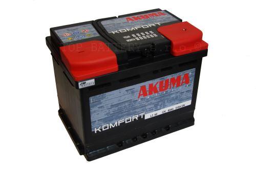 Autobaterie Akuma Komfort 12V, 60Ah, 510A, 7905546