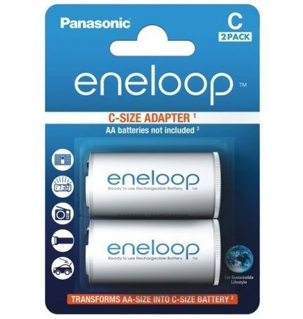 Panasonic Eneloop Adapter BQ-BS2E/2E, C, (Blistr 2ks)