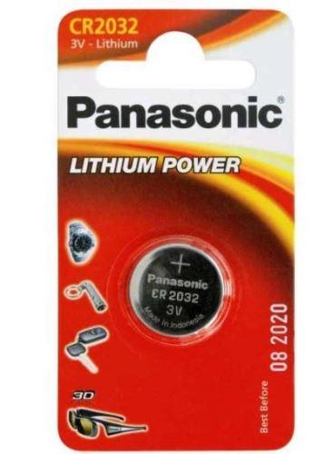 Baterie Panasonic CR2032, Lithium, 3V, (Blistr 1ks)