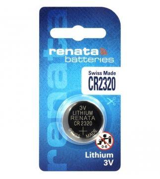 Baterie Renata CR2320, Lithium, 3V, (Blistr 1ks)