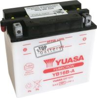 Motobaterie Yuasa YB16B-A, 12V, 16Ah