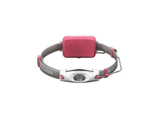 Čelová svítilna Ledlenser NEO 4 růžová, 500916