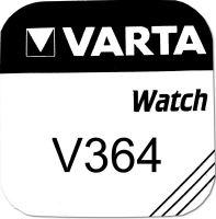 Baterie Varta Watch V 364, SR621SW, hodinková, (Blistr 1ks)