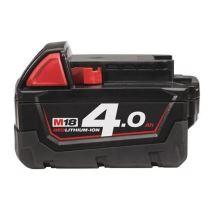 Baterie Milwaukee M18, 18V, 4,0Ah, Li-ion