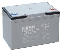 Olověný akumulátor Fiamm 12 FGL70, 70Ah, 12V