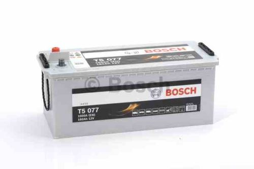 Autobaterie BOSCH T5 077 HDE, 180Ah, 12V, 1000A, 0 092 T50 770