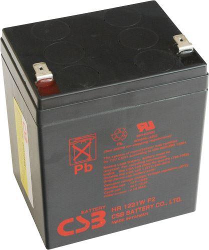 Akumulátor (baterie) CSB HR1221W F2, 12V, 5,1Ah