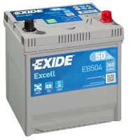 Autobaterie EXIDE Excell 12V, 50Ah, 360A, EB504